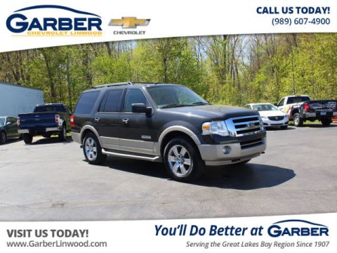 Pre-Owned 2007 Ford Expedition Eddie Bauer With Navigation & 4WD