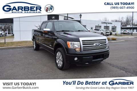 Pre-Owned 2012 Ford F-150 Platinum With Navigation & 4WD