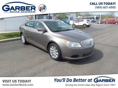 Pre-Owned 2010 Buick LaCrosse CX FWD Sedan