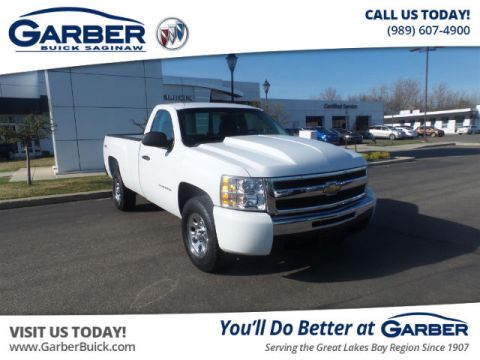 Pre-Owned 2011 Chevrolet Silverado 1500 Work Truck 4WD