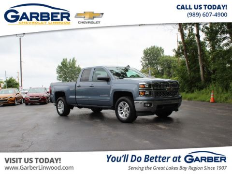 Certified Pre-Owned 2015 Chevrolet Silverado 1500 LT 4WD