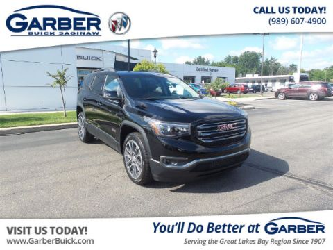 Certified Pre-Owned 2017 GMC Acadia SLT-1 With Navigation
