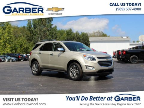 Pre-Owned 2016 Chevrolet Equinox LTZ AWD 4MATIC®