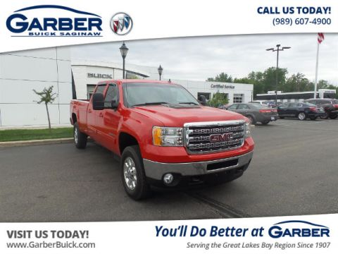 Pre-Owned 2013 GMC Sierra 2500HD SLT With Navigation & 4WD