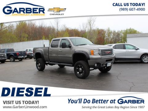 Pre-Owned 2014 GMC Sierra 2500HD Denali With Navigation & 4WD