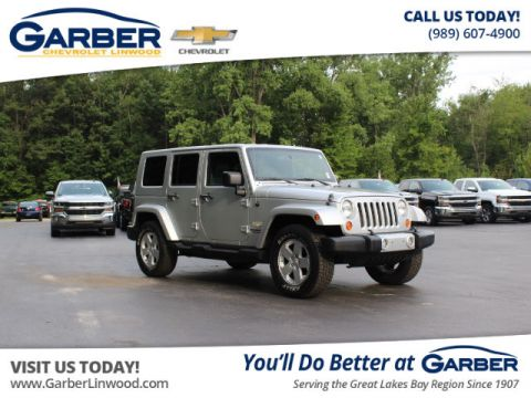 Pre-Owned 2008 Jeep Wrangler Unlimited Sahara 4WD