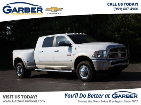 Pre-Owned 2010 Dodge Ram 3500 Laramie With Navigation & 4WD