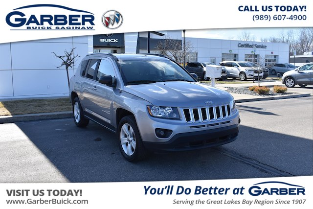 PreOwned Jeep Compass For Sale In Saginaw MI At Garber - Sport vehicles 2016