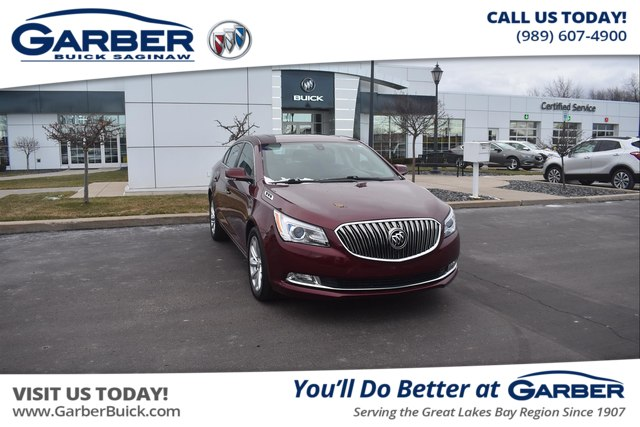 Certified Pre-Owned 2016 Buick LaCrosse Leather