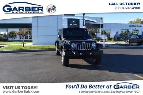 Pre-Owned 2016 Jeep Wrangler Unlimited Sahara With Navigation & 4WD