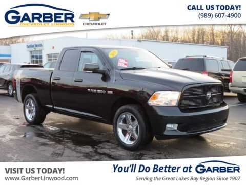 Pre-Owned 2011 Dodge Ram 1500 Sport 4WD