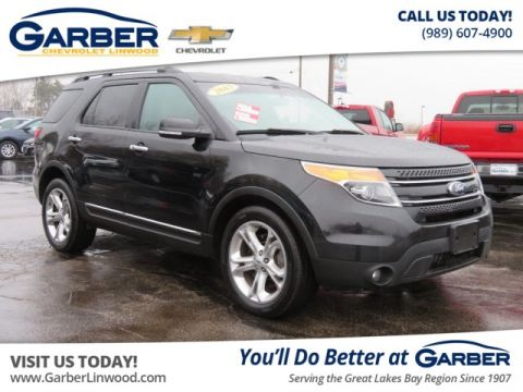 Pre-Owned 2015 Ford Explorer Limited 4WD