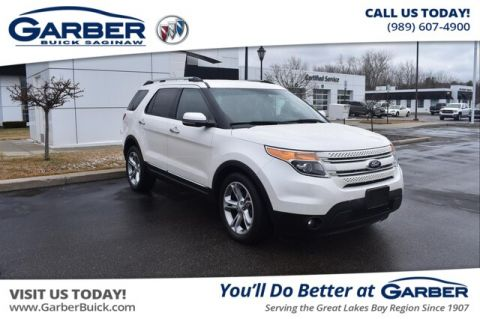 Pre-Owned 2013 Ford Explorer Limited With Navigation & 4WD