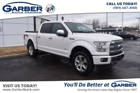 Pre-Owned 2015 Ford F-150 Platinum With Navigation & 4WD