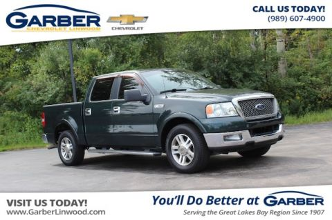 Pre-Owned 2005 Ford F-150 Lariat With Navigation