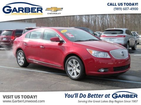 Pre-Owned 2012 Buick LaCrosse Leather FWD Sedan