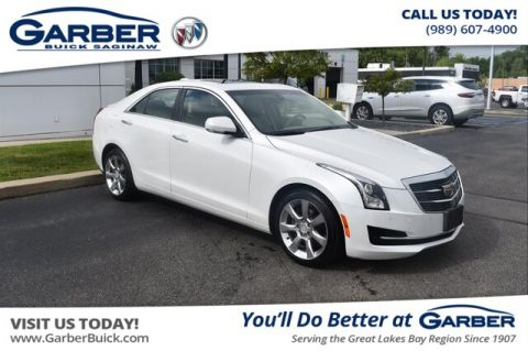 Pre-Owned 2016 Cadillac ATS 2.0L Turbo Luxury Collection AWD