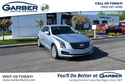 Pre-Owned 2017 Cadillac ATS 2.0L Turbo Luxury AWD 4MATIC®