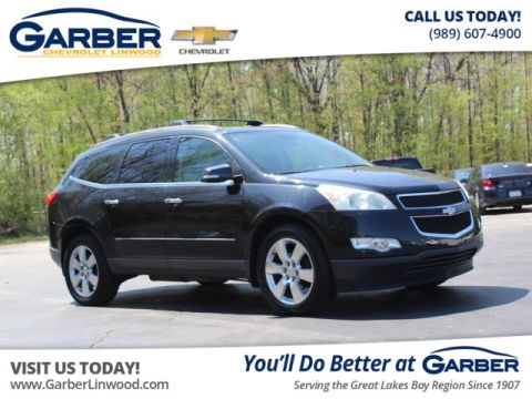 Pre-Owned 2009 Chevrolet Traverse LTZ With Navigation