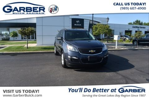 Pre-Owned 2013 Chevrolet Traverse LS AWD