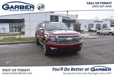 Certified Pre-Owned 2018 Chevrolet Suburban Premier With Navigation & 4WD