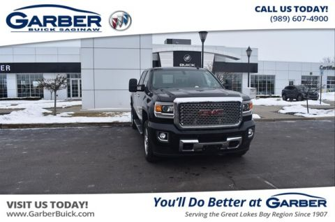 Pre-Owned 2015 GMC Sierra 2500HD Denali With Navigation & 4WD