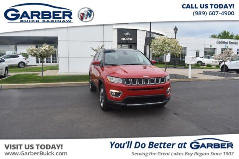 Pre-Owned 2019 Jeep Compass Limited 4WD