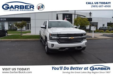 Pre-Owned 2017 Chevrolet Silverado 1500 High Country With Navigation & 4WD