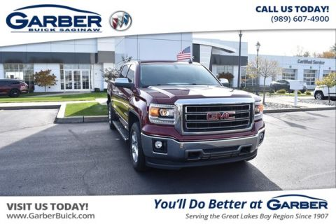 Pre-Owned 2015 GMC Sierra 1500 SLT With Navigation & 4WD